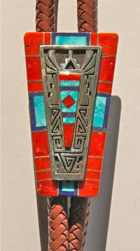 Bolo Tie by Abraham Begay