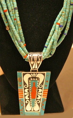 Necklace by Abraham Begay