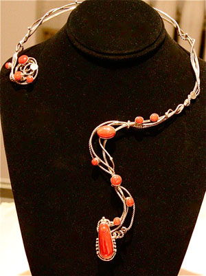 Torc Necklace by Veronica Poblano
